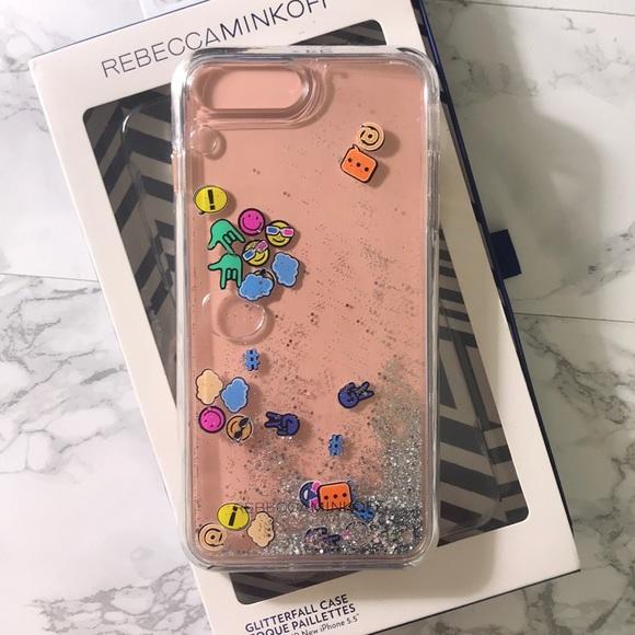 00b6eb181 Rebecca Minkoff Accessories | Rebeccaminkoff Glitterfall Emoji ...